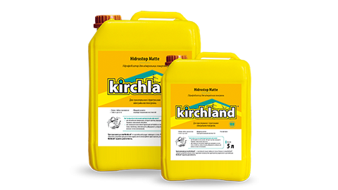 Kirchland® Hidrostop Matte Ground Solution